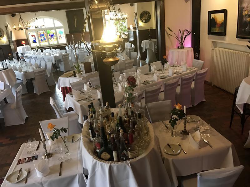 Impressionen unseres Restaurants im Schützenhaus in Heidelberg